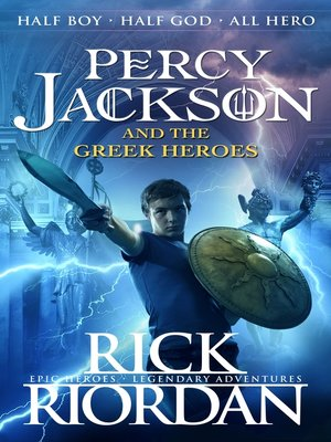 cover image of Percy Jackson and the Greek Heroes